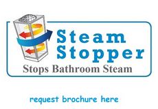 Stops Bathroom Steam